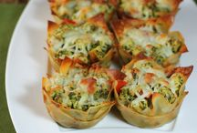 Chicken pesto wanton / Entree