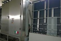 Washing machines for glass / washing machine for IG glas