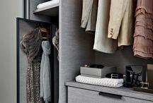 Walk in -closet