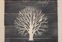 Family tree / Display ideas