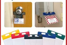 Clean up Warehouse & Retail / Warehouse Sign Holders, Magnets, Pouches