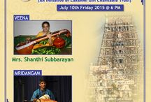 GIRI FINE ARTS July month concert / GIRI welcomes you for music concert on July 10th @ Kapaleeshwarar Temple