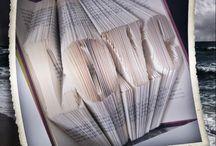 Bokbretting / Ideer og inspirasjon ifbm bretting av bøker.