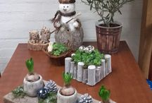 decoração de natal na sacada