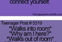 funny teenager post