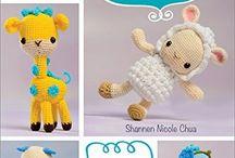 """Diseños Infantiles en """"Punto Crochet"""""""