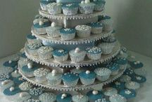 winter wedding cakes / by Jessica Nicole