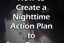 stop night time eating