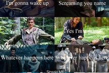 The hunger games / Everything that has the hunger games characters in it but not everything