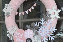 wreaths / by Candy Spiegel