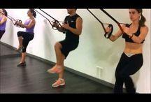 ejercicio con TRX para suspensión