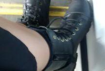 sapatos e por onde eles andam...rs