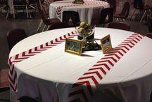 Baseball World Series Party / Baseball theme party ideas