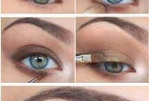 schönes Augen Make Up