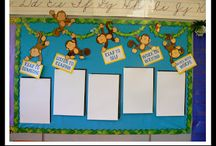 Beginning of the School Year / Look at the board prior to the start of the school year!