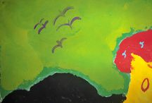Artist in meeh!! / My painting skills.. lol!!