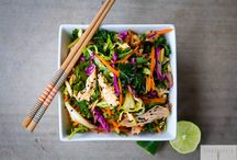 Quick healthy meals / Asian chicken salad no sugar