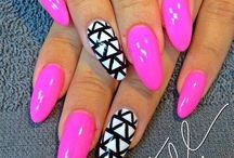 Creative nails for the girlie girls