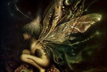 The world of Brian Froud / Fantasy, woodland creatures, folk of the forest, nature