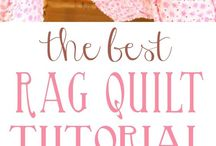 Baby rag quilt tutorial.