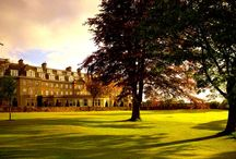 Gleneagles / Nestled in a picturesque 850-acre estate, Gleneagles is renowned the world over for its three championship golf courses, Michelin star dining, leisure facilities and its splendid country pursuits. http://www.prestigiousvenues.com/venue/gleneagles/
