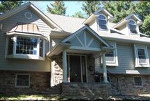 Home: Home Exterior Re-do's / How to take make an okay exterior into a masterpiece. / by Lexie's Kitchen & Living