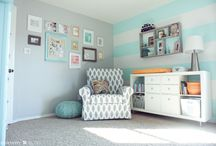 Craft room ideas!! / Love the accent wall!!!