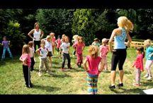 Pohybové aktivity s dětmi