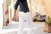 White trousers fashion