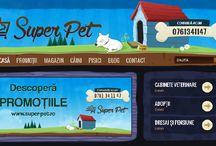 Super Pet Shop / Pet Shop oline, doar pentru caini si pisici, cu livrare gratuita in toata Romania