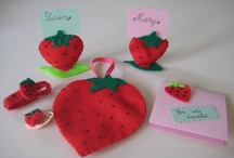 Strawberry Party  / All you need for an amazing strawberry party. Your kids will love it.  / by Winter Ema