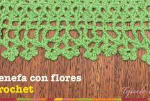 Crochet Borde  Barrado