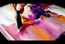 vászon festés