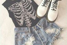 Grunge Outfit Ideas / One of my favorite outfit styles ever!! Give's me loads of ideas to expand on my own wardrobe to.