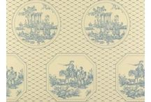 Toile de Jouy pattern design / Inspiration for creating patterns in the style of the classic pattern design style referred to Toile de Jouy.