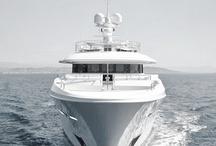 White Classic Boat