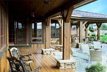 Inviting porches