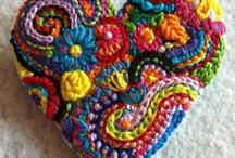 Crochet Ideas, Funny Colors!!!