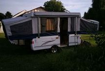 POP UP CAMPER FOR SALE 2006 FLEETWOOD / by CasualHomeStyle