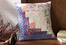 Pillow of the Month 2015 / Join us in making fun and creative pillows this year. Each month we will introduce a pillow pattern that incorporates a variety of techniques and of course Coats thread.