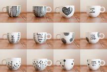 Mugs decoration