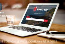 Website Design Service Company Aberdeen