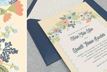 alec & steph / invitations / by jessie sigsworth