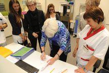 Il Primary Nursing attraverso le esperienze / Marie Manthey, teorica americana del Primary Nursing, torna a Biella per ascoltare le esperienze degli infermieri sul campo