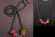 Seed bead necklaces and pandants