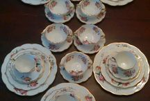 Vintage China, Cool Pans and Flatware et al / Vintage China Patterns, cool and different pans, unique and vintage flatware