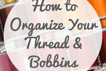 Sewing - Organization Ideas