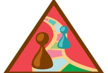 Brownies - Making Games / Requirements for Brownie Making Games Badge -- Step 1: Try a scavenger hunt. Step 2: Make up a mystery game. Step 3: Create a party game. Step 4: Change the rules. Step 5: Invent a whole new sport. / by Girl Scouts SU24