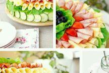 Eten en drinken salade