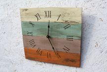 Pallet clocks
